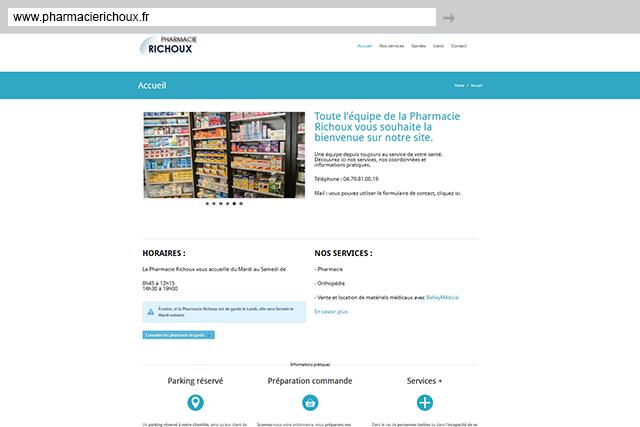 site-internet-pharmacie-richoux