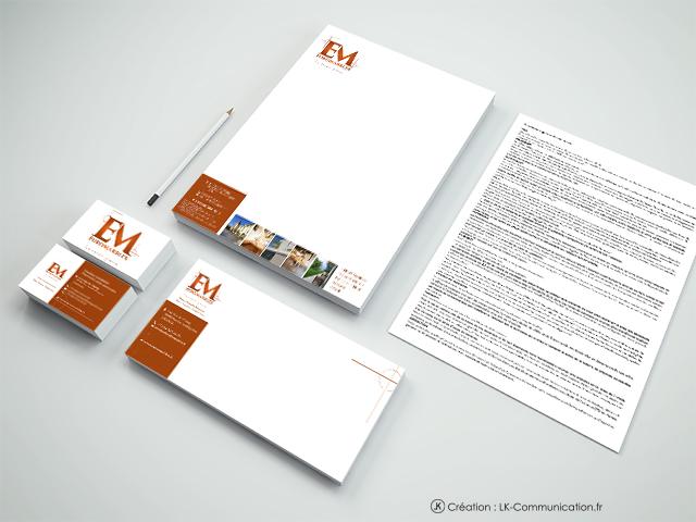 conception charte graphique entreprise