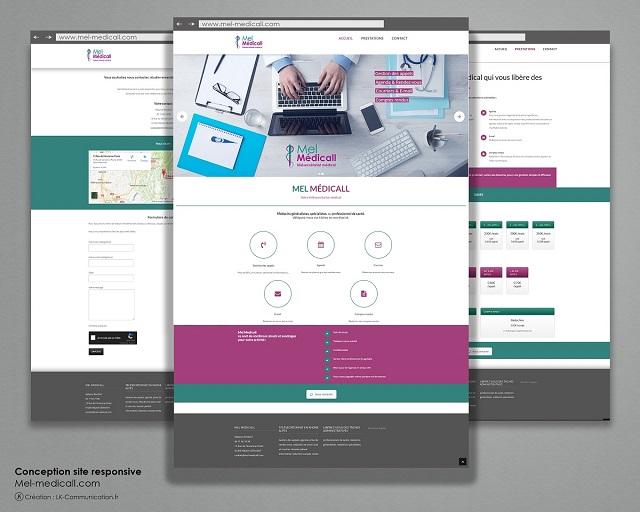 Site internet Mel Médicall