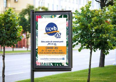 Affiche événement association UCAB