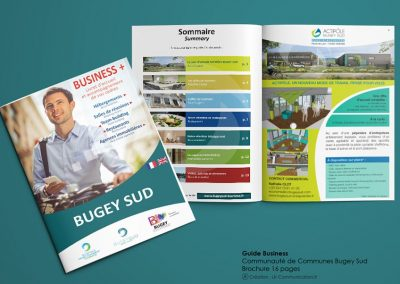 Brochure business guide Communauté de Communes