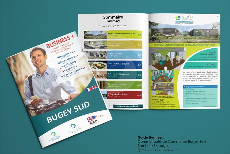 Brochure business guide Communauté de Communes