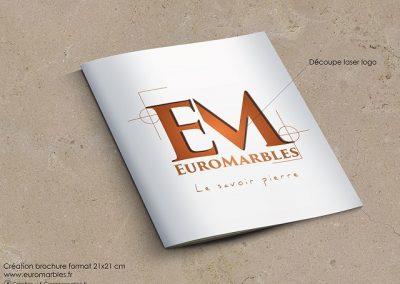 Brochure présentation entreprise Euromarbles