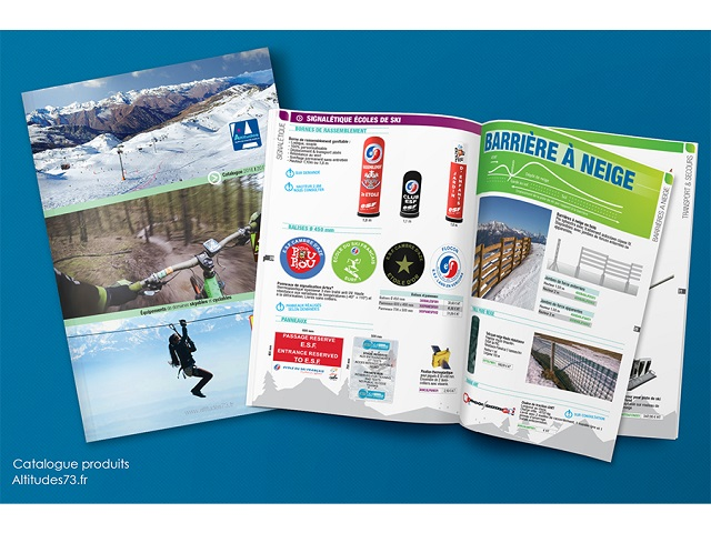 Catalogue produits Altitudes73