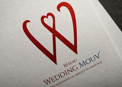 Logo réseau Wedding Mouv'