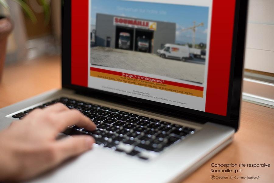 Site web Soumaille TP