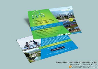 Flyer Camping Vélo-tourisme