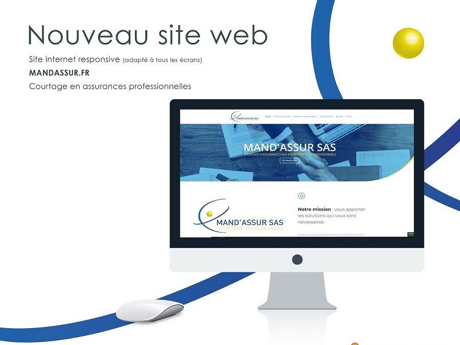 Site internet Mandassur