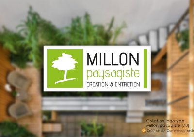 Logo Millon Paysagiste