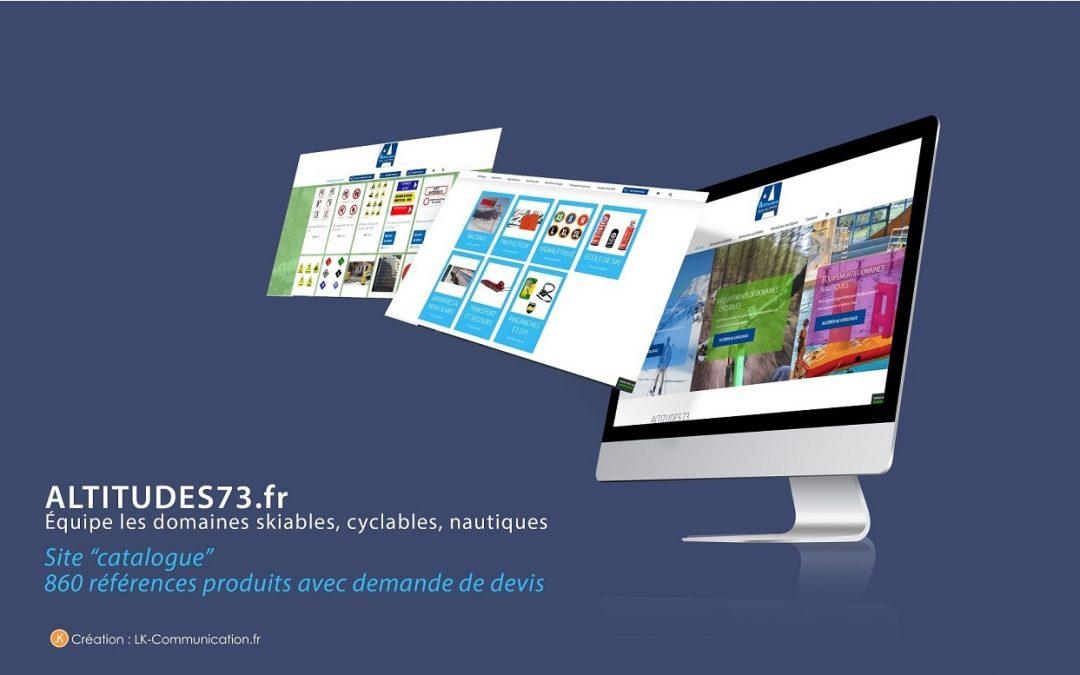 Site catalogue-devis Altitudes73