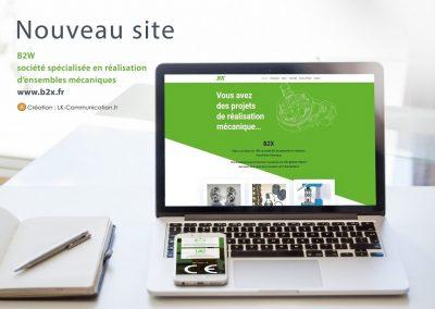 Site web B2X