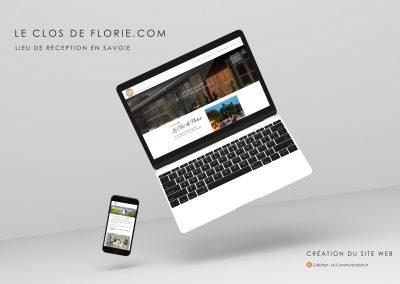 Site web Le Clos de Florie