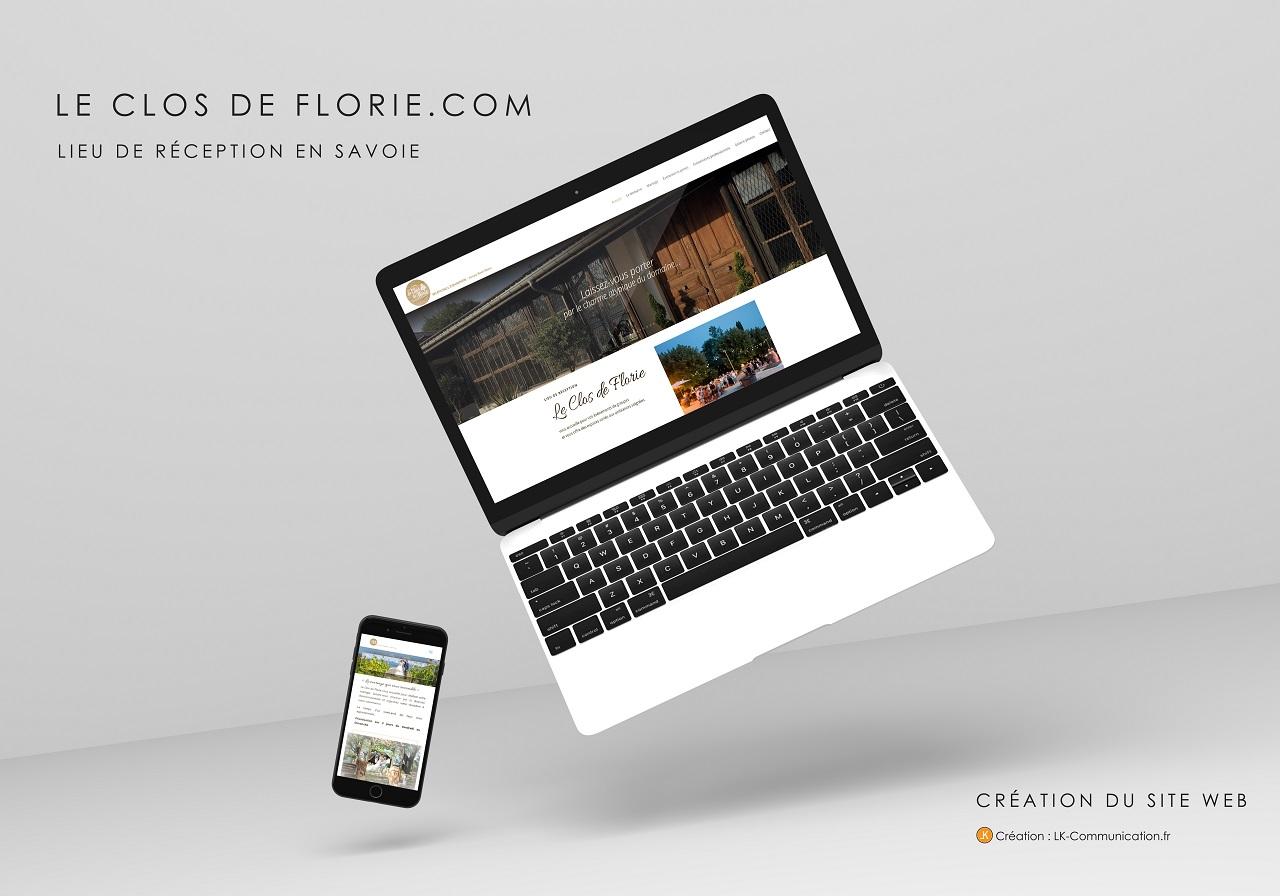 site web clos de florie