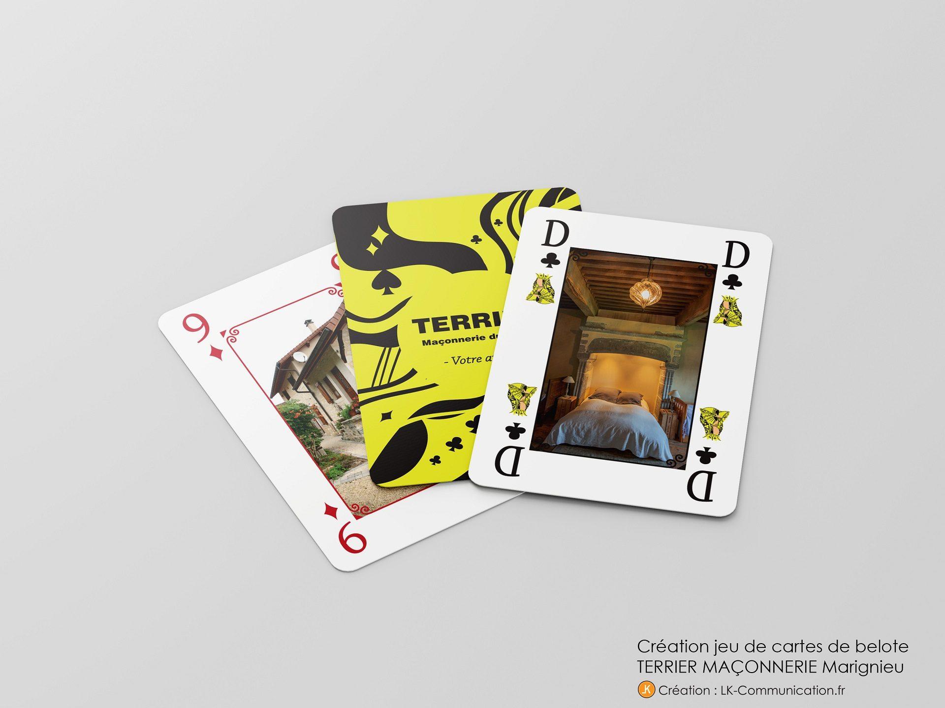 jeu carte personnalise