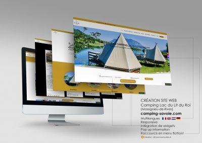 Site web Camping Lac du Lit du Roi