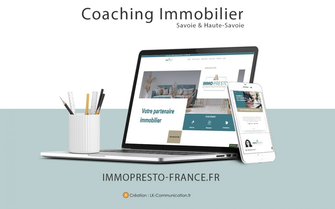 Site web ImmoPresto