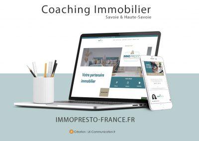 Site web ImmoPresto