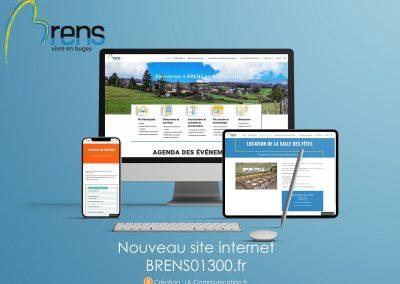 Site web ville de Brens